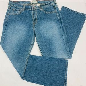 Levis Signature Womens Jeans Misses 14 Short Blue